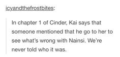 Whoever it was who told Kai started the story!<<<<< IT MIGHT'VE BEEN ERLAND!!