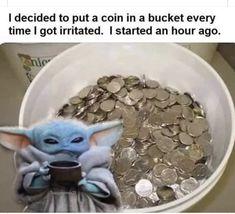 Yoda Funny, Funny Animal Jokes, Very Funny Jokes, Crazy Funny Memes, Funny Puns, Really Funny Memes, Funny Laugh, Funny Facts, Funny Tweets
