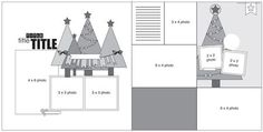 #sketch #christmas from the Simple STories blog #scrapbook #layout