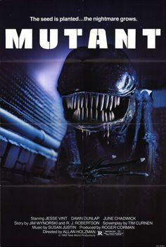Mutant (1982)    new world pictures.