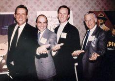 Jeremy Brett, David Suchet, Peter Davison and John Thaw