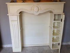 Fake fireplace More