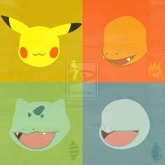 Minimalist Pokemon Posters - Generation One | Print Design ...