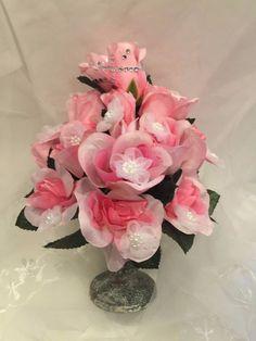 ELIXITA Centerpiece Wedding Decoration Gift Flowers Silk arrangement Roses #ELIXITA