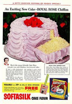 Royal Rosé Chiffon Cake - Betty Crocker