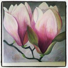 Magnolia#flowerpainting