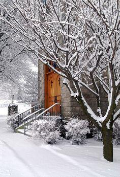 Sunday Snowy morning.