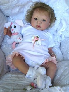"""Reborn Baby Doll Gorgeous """"Mary Beth"""" Shyann Sculpt by Aleina Peterson"""