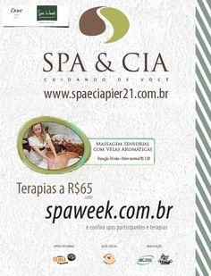 Sim estamos participando do SPA WEEK com preços promocionais de apenas R$ 65,00! Corra e garanta sua oportunidade. O SPA WEEK será do dia 13 a 27 de Abril!