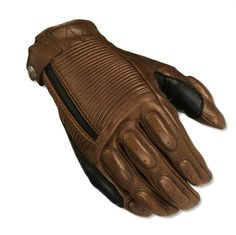 "Roland Sands Design have taken a big step into the motorcycle gear arena with their new clothing collection, this pair of gloves called ""Diesel"" are a..."