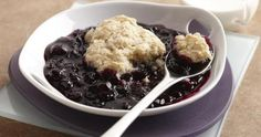 July is National Blueberry Month! We can't think of a better recipe than Blueberry Biscuit Cobbler to celebrate this fruit of summer! #nationalblueberrymonth #makegood #summer #dessert