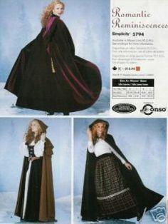 free irish crochet hooded cloak patterns for women | Hooded Cape Sewing Pattern