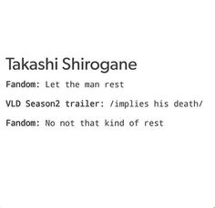 No please don't do this to Shiro