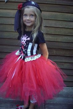 Pirate TuTu Kostüm - Pirate Princess Halloween TuTu Kostüm - Disney Piraten TuTu - set Pirate Princess TuTu - CUSTOM - Halloween TuTu