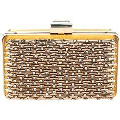 LANVIN embellished 'Miniaudiere' box clutch