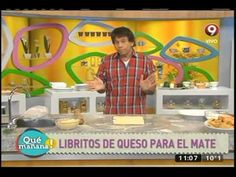Bizcochitos, cuernitos y libritos de grasa y queso - YouTube