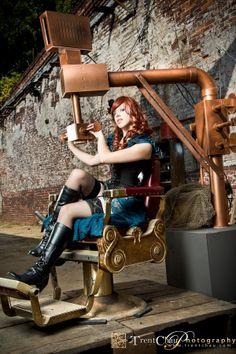 Sarah - Steampunk by Trent Chau on 500px