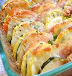 Summer Vegetable Tian! Love this dish! I use more garlic but that's just me :)