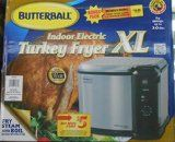 Masterbuilt Butterball Indoor Electric Fryer Cooker, Extra Large Capacity, Turkey up to 20 lbs Stainless steel constructionCooking basket with drain clipFry up to a turkey, boil seafood and … Butterball Deep Fryer, Butterball Electric Turkey Fryer, Turkey Deep Fryer, Seafood Menu, Seafood Boil, Cool Kitchen Gadgets, Cool Kitchens, Wheelchair Ramps For Home, 20 Lb Turkey