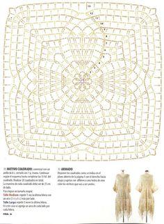 Ideas para el hogar: Tapado túnica y bolero