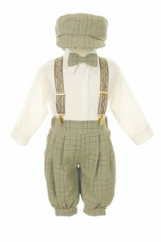 Vintage Dress Suit-Bowtie,Suspenders,Knickers Outfit Set for Baby Boys & Toddler, Brown Plaid Toddler Outfits, Baby Boy Outfits, Kids Outfits, Winter Outfits, Baby Boy Fashion, Kids Fashion, Toddler Fashion, Fashion Dolls, Toddler Boys