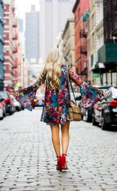 NYFW 3: Boho Floral Dress