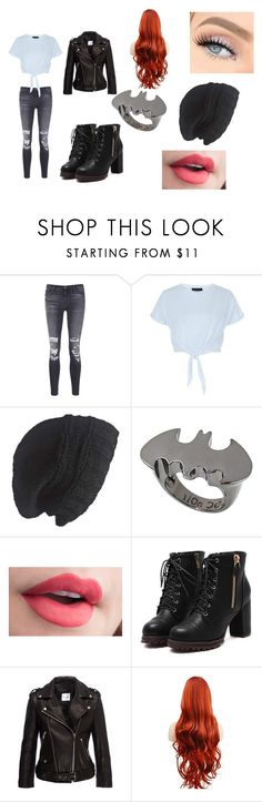 """draco 1"" by yoitsjai ❤ liked on Polyvore featuring J Brand, New Look, Laundromat, nOir and Anine Bing"