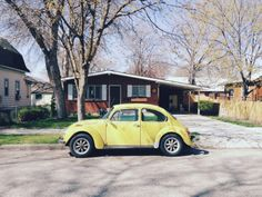 Vintage Volkswagen Beetle, Boise, Idaho | Field Office