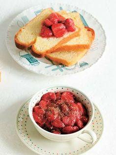 いちごの山椒風味|エル・オンライン