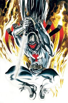 AZRAEL: DEATH'S DARK KNIGHT #1 Cover by Guillem March