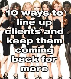 Line up clients and keep them coming back!