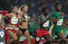 Caster Semenya breezes to victory as South African claims gold in the 800m final | Daily Mail Online