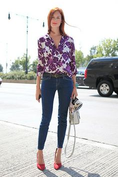 Street Style 2013: Florals // Photo by Anthea Simms