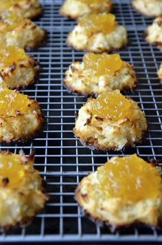 Coconut Macaroons with Homemade Pineapple Jam Recipe