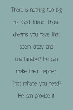 So, pray big.  #pray #prayer #prayertips #praybig #christianquotes #lifequotes #quotes