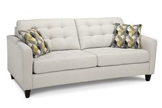 The Fabric Sofa is built with Exceptional Quality and attention to detail for Long Lasting Comfort. Contact our Calgary or Airdrie furniture showrooms. Contemporary Frames, Furniture Showroom, New Home Designs, Your Perfect, Fabric Sofa, Sofas, Love Seat, Your Style, New Homes