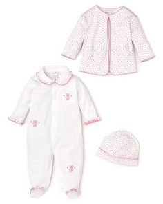 Kissy Kissy Infant Girls' Flower Print Set ($72) as seen in LilSugar's round-up of adorable home from the hospital outfits
