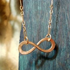 Infinity to Eternity Gold filled Necklace