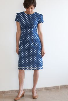 Sam's Megan dress - sewing pattern in Love at First Stitch