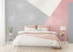 Rose Gold and Silver metallic paint for only at The Range have just what you need to decorate your room in just… Girl Bedroom Walls, Room Ideas Bedroom, Bedroom Colors, Girl Room, Bedroom Decor, Girl Bedrooms, Silver Bedroom, Bedroom Wall Designs, Decorate Your Room