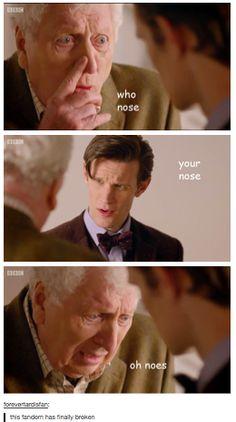 wibblywobbleytimeywhimeybender: ... I think Doctor Who fans has joined the Sherlock Fandom's insane levels...