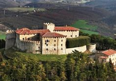 Panoramic view of the castle #Montegiove