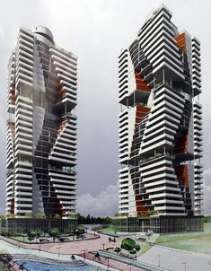 57 Ideas For House Architecture Interior Building Unique Architecture, Architecture Drawings, Futuristic Architecture, Facade Architecture, Residential Architecture, Future Buildings, City Buildings, Facade Design, Beautiful Buildings