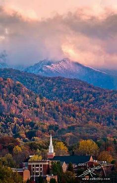 Waynesville NC, at the foot of the Balsam Range
