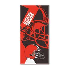 Cleveland Browns NFL ?Puzzle? Over-sized Beach Towel (34in x 72in)