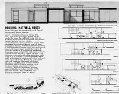 Housing, The Ryde, Hatfield by Phippen Parkes & Randall Beautiful Architecture, Acre, Floor Plans, London, How To Plan, Building, Bungalows, Architects, Urban