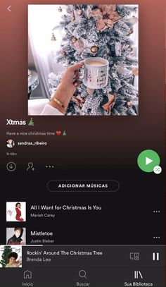 #spotify #instagram #christmas #playlist #blog #DezembroEncantado #natal #canva Driving Home For Christmas, Merry Christmas To You, Last Christmas, Christmas Baby, Xmas, Kirsty Maccoll, Spotify Instagram, Christmas Playlist, Instagram Christmas