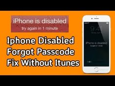 How To Fix Iphone Disabled Forget Passcode Without iTunes New Easy Method Iphone Secret Codes, Iphone Codes, Android Secret Codes, Cell Phone Hacks, Iphone Hacks, Iphone 7, Unlock Iphone Free, Iphone Secrets, Lock Screen Wallpaper Iphone