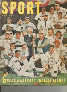 1951 Sport Magazine Great Baseball Jublilee by TheIDconnection, $45.00