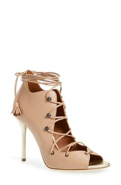 Malone Souliers 'Savannah' Lace-Up Sandal (Women)